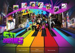 """сайт для студии танца """"S3TDreams"""""""